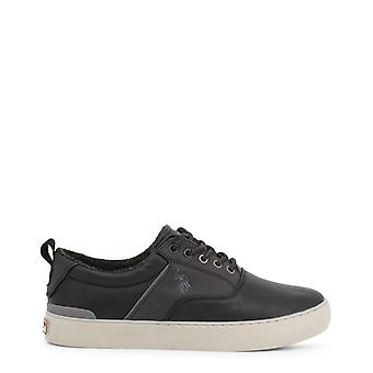 Us polo assn. 7106w9 men's synthetic leather sneakers