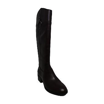 Alfani Kvinders Bexleyy læder mandel tå knæ high fashion støvler