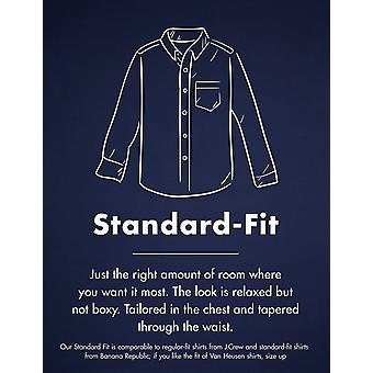 Merkki - Goodthreads Men's Standard-Fit Pitkähihainen Heather Flannel Shirt