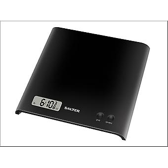 Salter Arc Electronic Kitchen Scale Black 1066BKDR