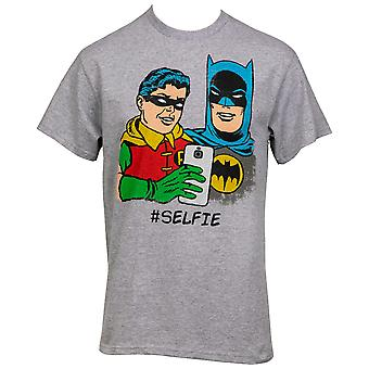 Batman And Robin Selfie T-Shirt