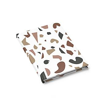 Brown Terrazzo Journal - Linia rządzona