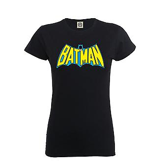 Dc Originals - Batman Retro Logo T-Shirt, Femmes