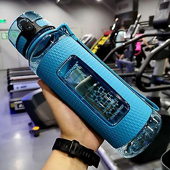 Sport Water Bottles Portable Gym Anti Fall Leak Proof Large Capacity Fitness