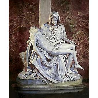 Impresión de Poster de Pieta de Miguel Ángel