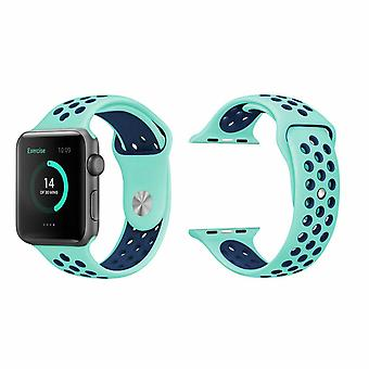 Banda de deportes de reemplazo para El Apple Watch - 42mm -Verde