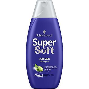 Schwarzkopf Supersoft Shampoo For Menn