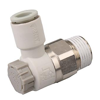 Pneumatic Air Speed Control Valve Fitting Connector 3/8Inch AS2201F-03-08SA