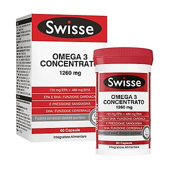 Swisse Omega-3 Concentrate 60 capsules
