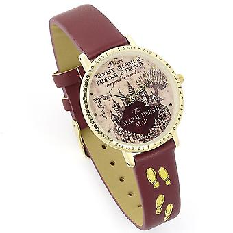Harry Potter Unisex Adult Marauders Map Analogue Watch