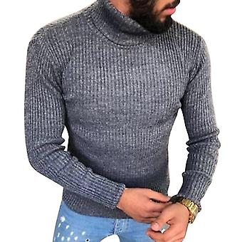 Winter High Neck, Thick Warm Sweater, Men Turtleneck, Mens Sweaters, Slim Fit,