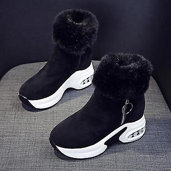 Bot Warm Peluche Winter Leather Snow Boots