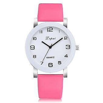Kvartsi kellot, Ylellinen Rannekoru, Naisten Mekko Luova Kello