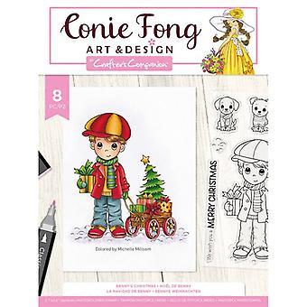 Crafter's Companion Benny's julklara frimärken