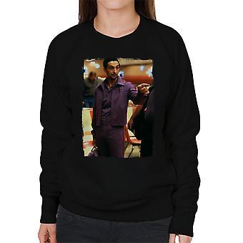 The Big Lebowski Jesus In The Bowling Alley Women's Sweatshirt