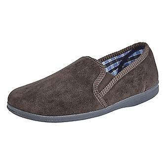 Sleepers Mens Wilson Velour Slippers