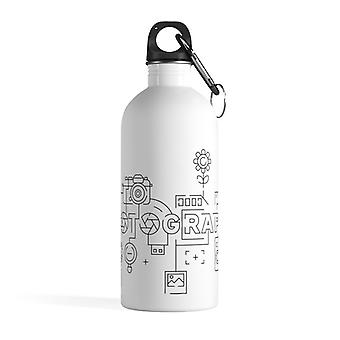 Photography infographic - Stainless steel water bottle