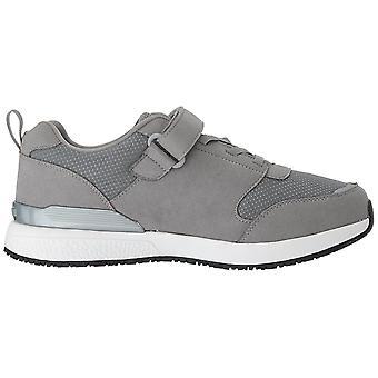 Propét Mens Stewart Fabric Low Top Lace Up Walking Shoes