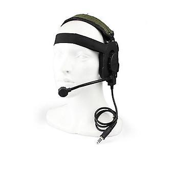 سماعة الرأس العسكرية في الهواء الطلق، وتكتيكية اطلاق النار سماعة الهواء مع الأذن