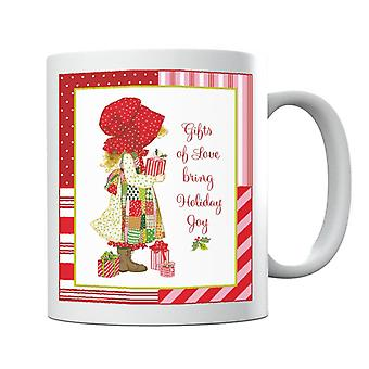 Holly Hobbie Regali di Natale d'amore portare tazza gioia vacanza