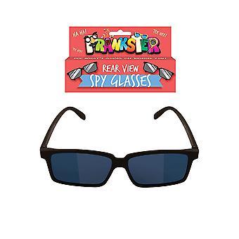 Henbrandt novo espelho de óculos de espião retrovisor ver atrás de você!!