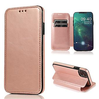 H-basics phone case for Apple iPhone 11 case case cover – magnetic clasp, stand function and card compartment