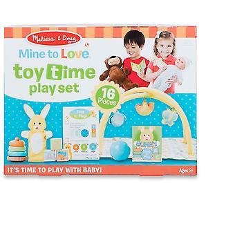 Melissa & Doug Toy Time Play Set
