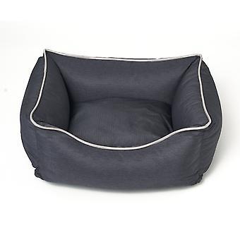Σκύλος- γάτα καλάθι Bastiaan - Σκούρο γκρι - Μέγεθος L