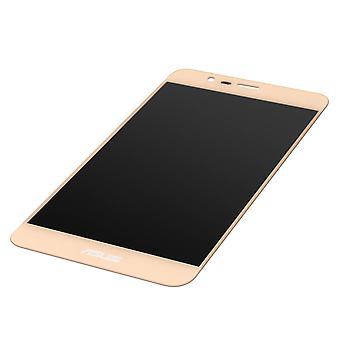 ecrã LCD Original completo substituição Asus ZenFone 3 Max dourado