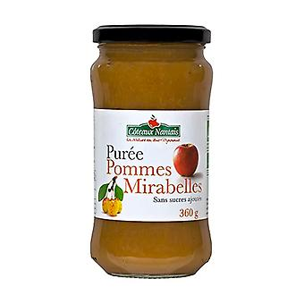 Mirabelle apple puree without sugar 360 g