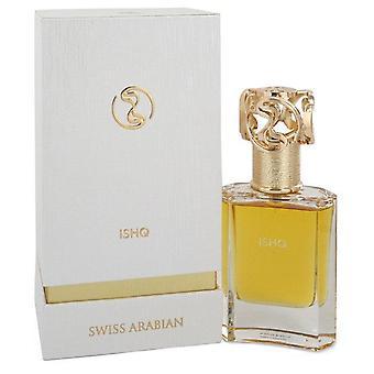 Sveitsin Arabian Ishq Eau De Parfum Spray (Unisex) Sveitsin Arabian 1,7 oz Eau De Parfum Spray