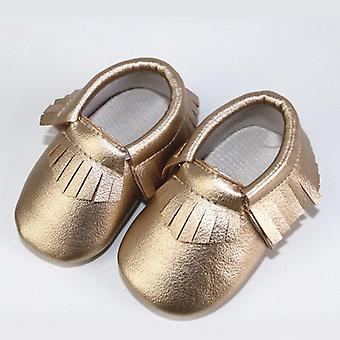 Pu Leather Baby Shoes, Moccasins, Newborn Soft Infants Crib Sneakers, First