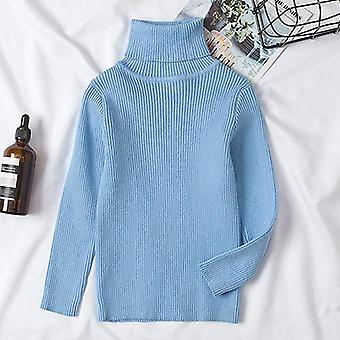 Autumn Winter Baby Pullover Sweaters, Soft Cotton Knitted Clothing