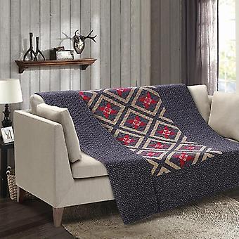 Spura Home Alabama Star Patchwork quiltet overgangsordning kast tæppe