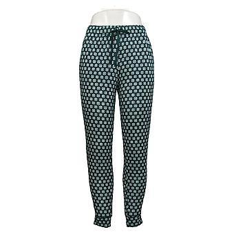 Cuddl Duds Femmes & s Petite Après Ski Pyjama Pantalon Vert A381816