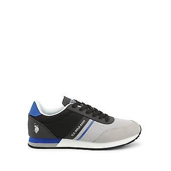 U.S. Polo Assn. - Skor - Sneakers - WILYS4127S0-MY2-GREY-BLK - Män - darkgray,svart - EU 43