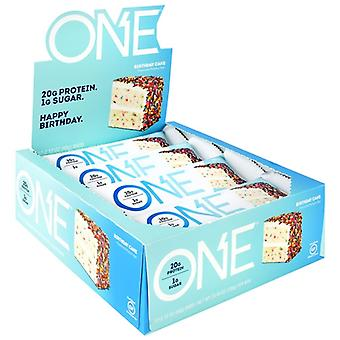 ISS Complete Oh Yeah! One Bar, Birthday Cake 2.12 oz(case of 12)