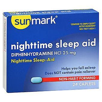 Sunmark Sunmark Nighttime Sleep Aid, 24 Caps