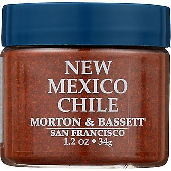 Morton & Bassett Seasoning New Mexico Chil, Case of 3 X 1.2 Oz