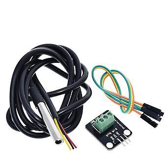 Capteur de température de sonde de température de câble étanche 18b20 pour Arduino