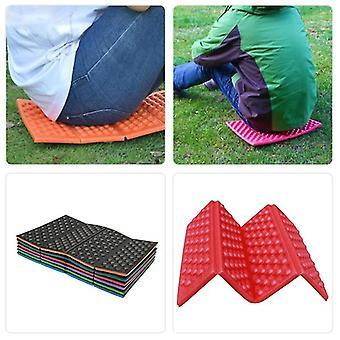 2 PCS Soft Wodoodporny Podwójny Camping Piknik Piknik Przenośna poduszka poduszka poduszka na zewnątrz składany camping
