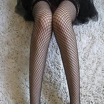 Großes Fischnetz Strumpf Spitze Top Oberschenkel Hohe Socken Leggings Frauen Lady Girls