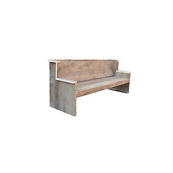 Wood4you - Zeeland Garden Bank - 'Do it yourself package' Gerüstholz - 180Lx72Hx63D cm