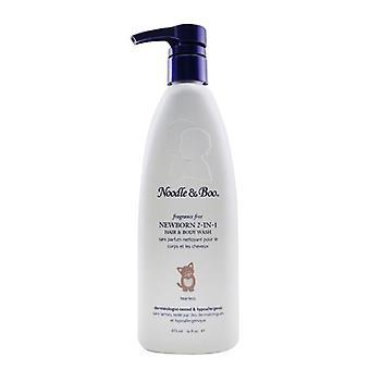 Noodle & Boo Newborn 2-in-1 Hair & Body Wash - Fragrance Free 473ml/16oz