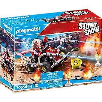 Playmobil Stuntshow 70554 Brannvesen Vogn