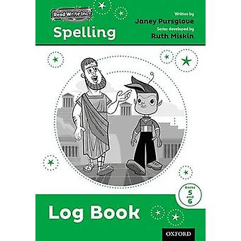 Read Write Inc. Spelling Log Book 56 Pack of 30 by Janey Pursglove