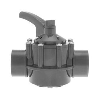 """Hayward PSV2SDGR 1.5""""-2"""" válvula de desviador de PVC de 2 vías"""