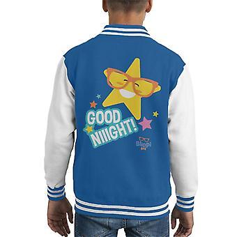Blippi Good Night Stars Kid's Varsity Jacket