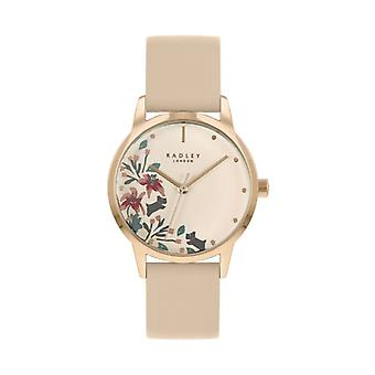 Radley Mto - Ss21 Promo Ry21220a Rose Dial Leather Strap Ladies Watch