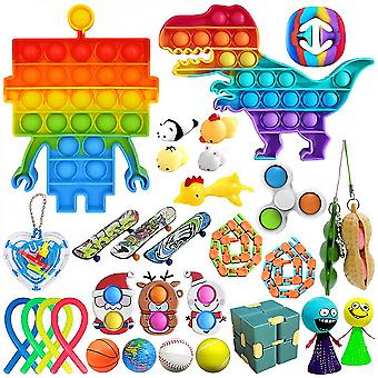 Fidget Zabawki Pack Stres & Lęk Relief Tools